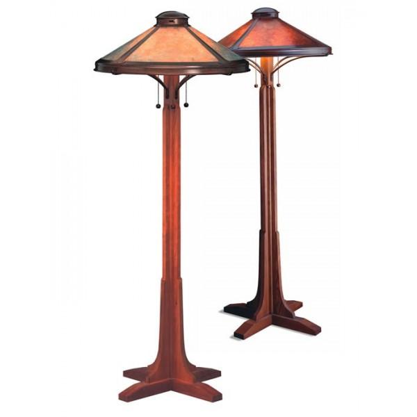 Perfect Mica Lamp Company 051 Bungalow Floor Lamp
