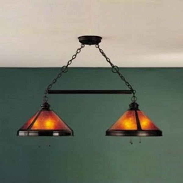 Mica Lamps 136 Billiard Light Fixture