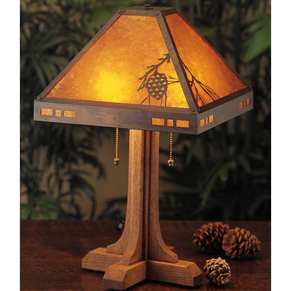 041 Pasadena Table Lamp; Mica ...