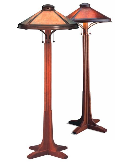 Mica Lamp Company 051 Bungalow Floor Lamp