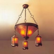 131 Lantern Coppersmith Chandelier