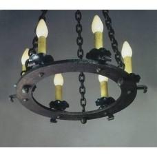 Mica Lamps Iron Hoop Chandeliers