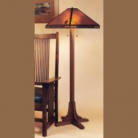 Mica Lamp Company 052 Pasadena Floor Lamp