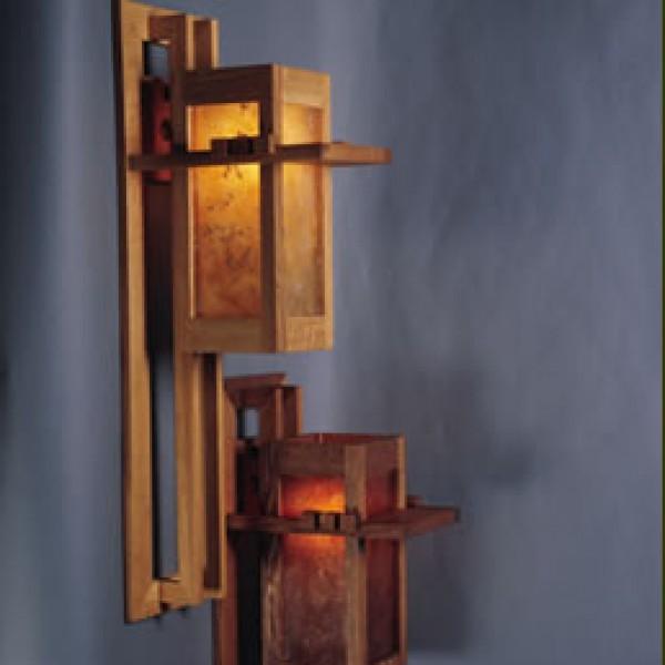 125 Wall Sconce Mica Lamp Company