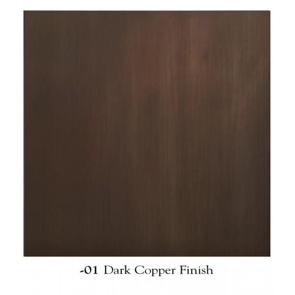 Mica Lamp Dark Copper Finish