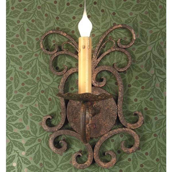 SB105 Storybook Magic Tree Sconce 1 Candle